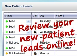 New dental patient leads
